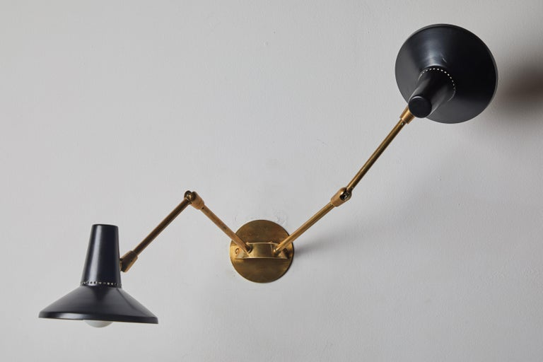 Pair of Wall Lights in the Style of Giuseppe Ostuni for O-Luce 6