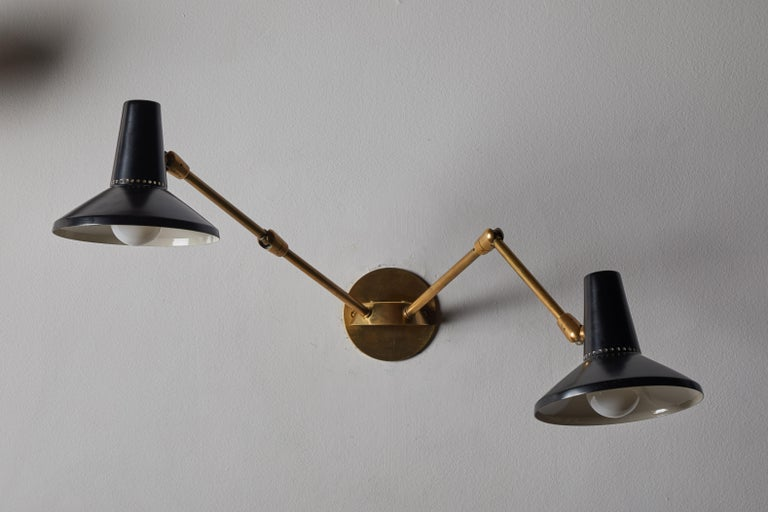 Pair of Wall Lights in the Style of Giuseppe Ostuni for O-Luce 7