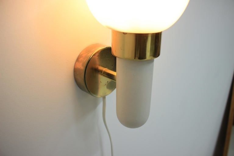 Late 20th Century Pair of Wall Lights / Scones, 1970s For Sale