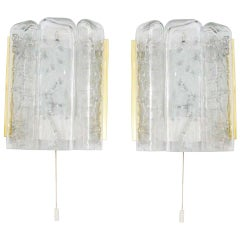 Pair of Wall Sconces by Doria Leuchten