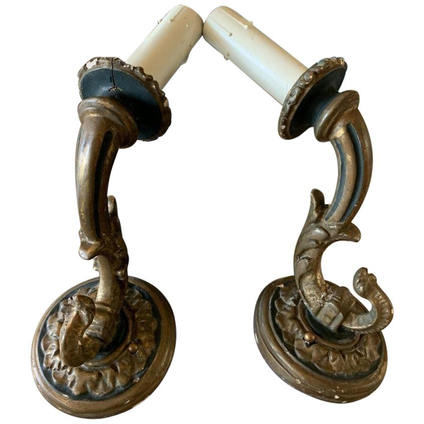 Pair of Wall Sconces by Paul Ferrante