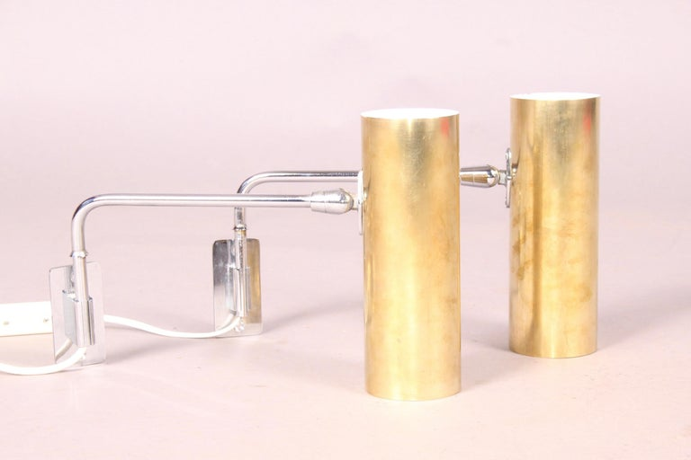 Pair of Wall Sconces In Good Condition For Sale In Meyrin, CH