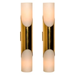 Pair of Wall Sconces or Wall Lights in the Style of RAAK Amsterdam, 1970