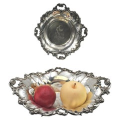 Pair of Wallace Sterling Silver Centerpieces Bowls in Grande Baroque Pattern '?'