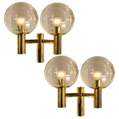 Pair of Wall Lights the Style of Hans-Agne Jacobsson, Sweden, 1960