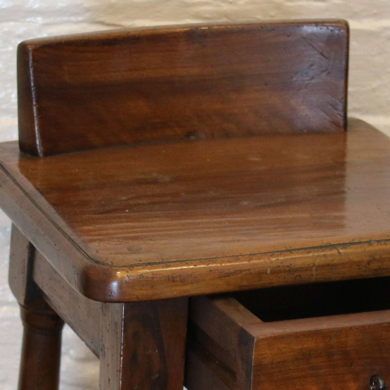 Mid-Century Modern Pair of Walnut Bedside Tables - PBT3 For Sale