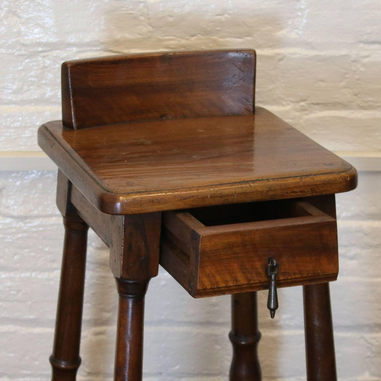 French Pair of Walnut Bedside Tables - PBT3 For Sale