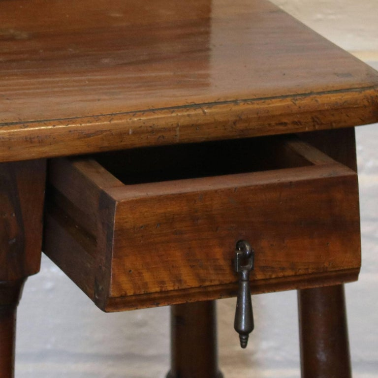 Pair of Walnut Bedside Tables - PBT3 For Sale 1