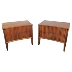 Pair of Walnut Night Stands by Strata for Unagusta
