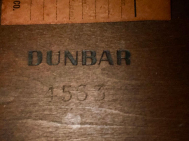 Pair of Walnut Side Tables by Dunbar For Sale 8