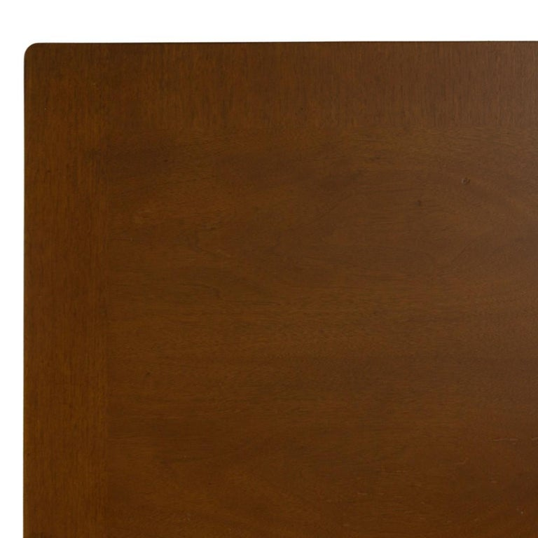 Pair of Walnut Side Tables by Robsjohn Gibbings for Widdicomb In Good Condition For Sale In New York, NY