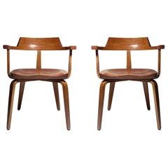 Pair of Walter Gropius Chairs for Thonet
