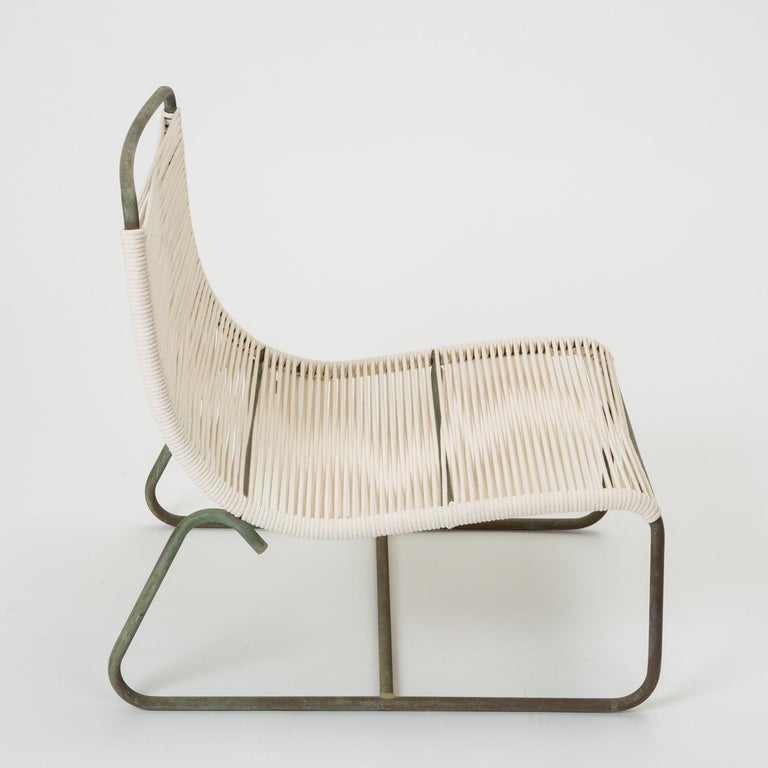 Pair of Walter Lamb Sleigh Chairs For Sale 3
