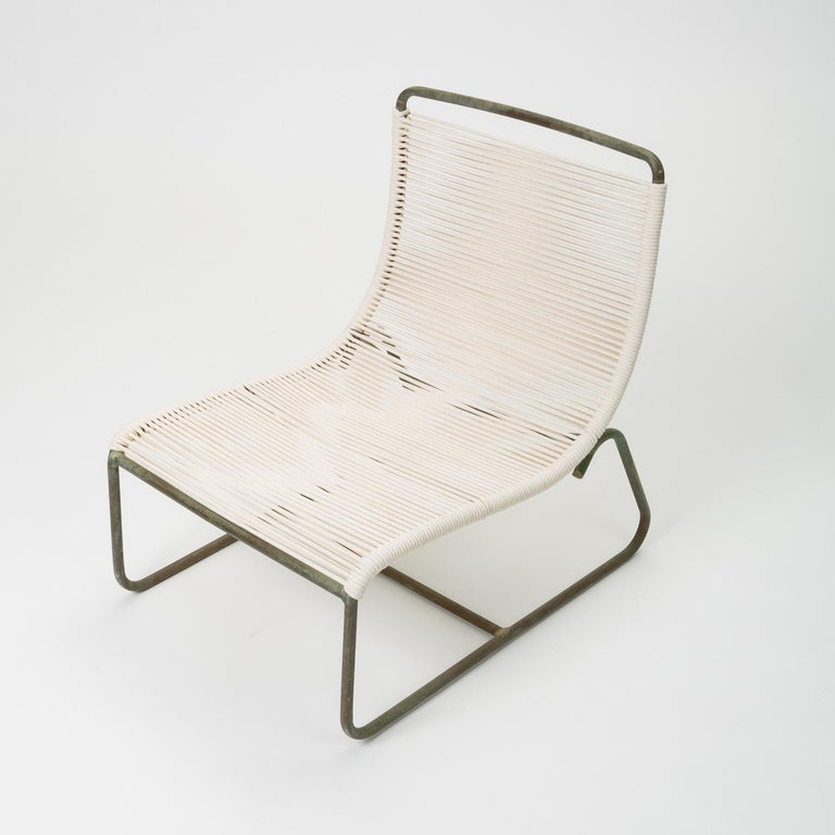 American Pair of Walter Lamb Sleigh Chairs For Sale