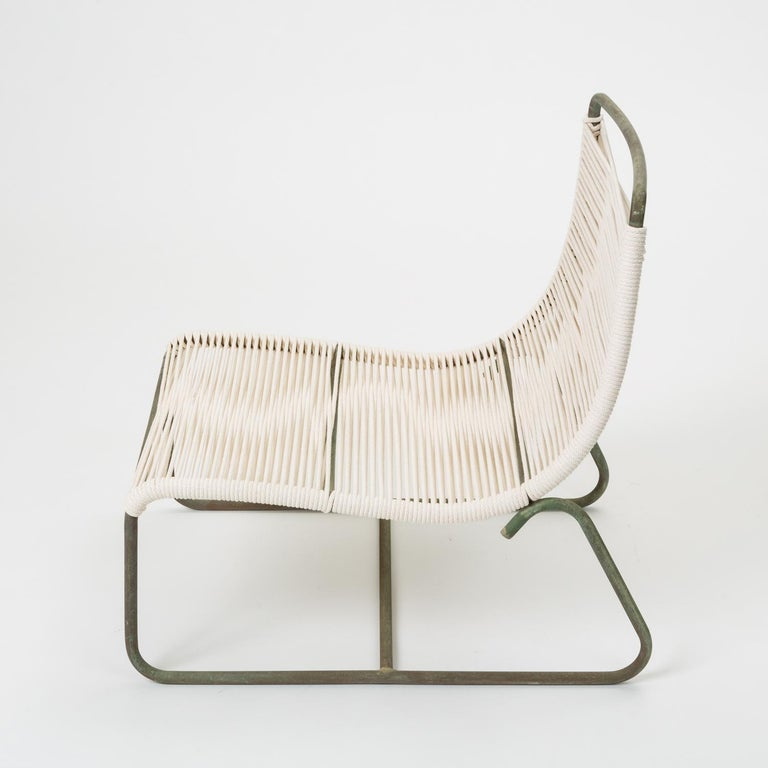 Pair of Walter Lamb Sleigh Chairs In Excellent Condition For Sale In Los Angeles, CA