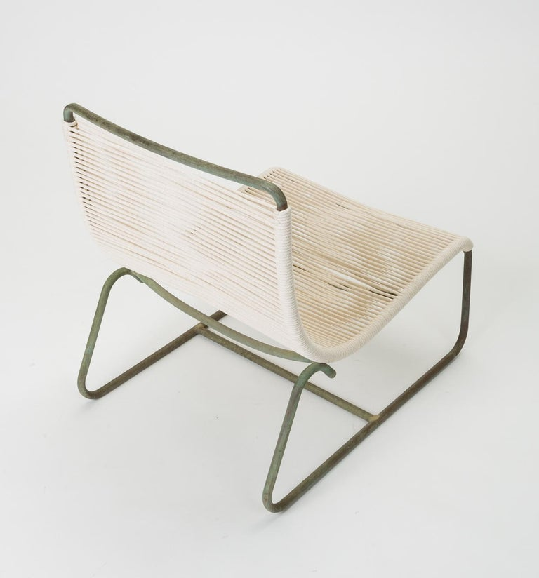 Pair of Walter Lamb Sleigh Chairs For Sale 1