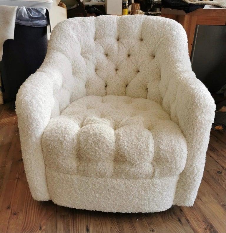 Pair of Brickel Associates Club Chairs Mid-Century Modern For Sale 1