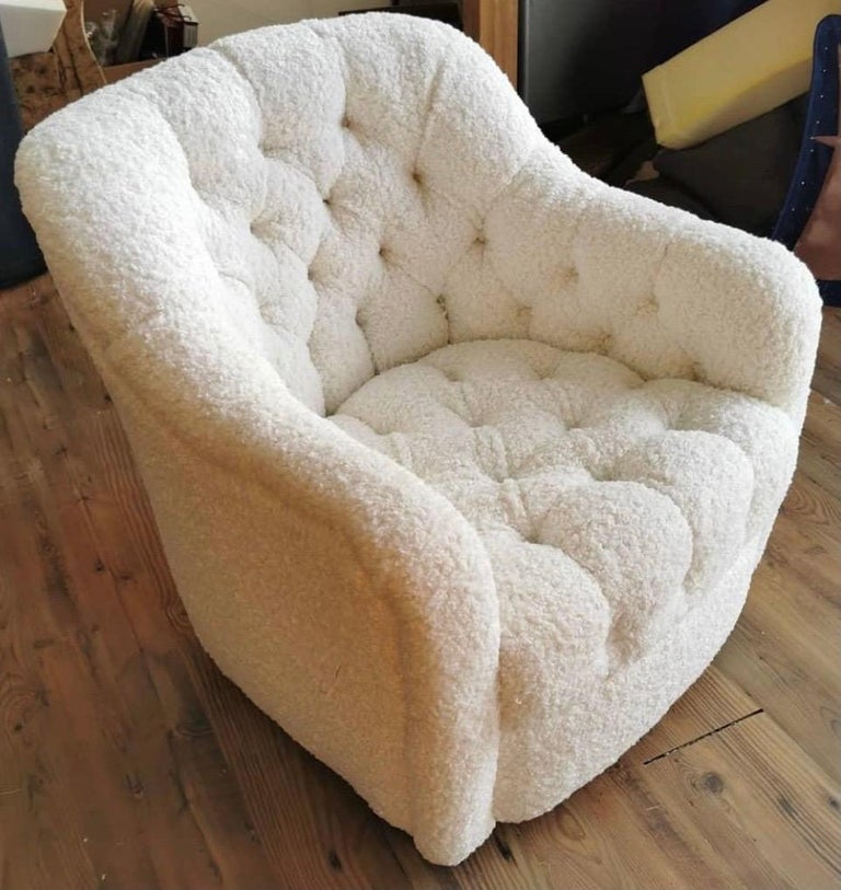 Pair of Brickel Associates Club Chairs Mid-Century Modern For Sale 2