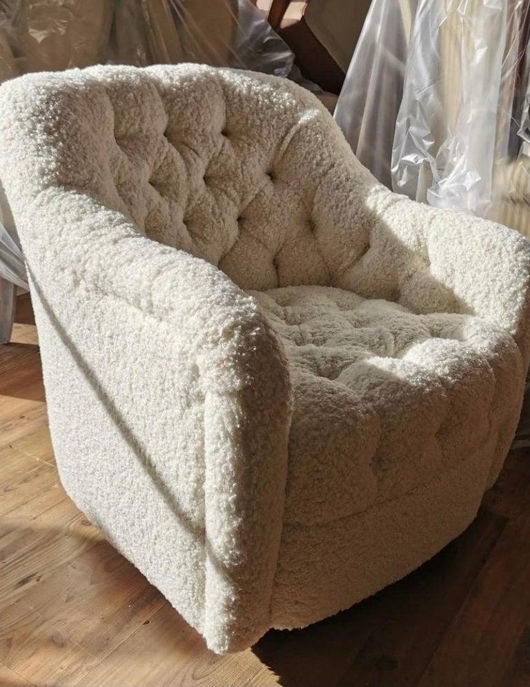 Pair of Brickel Associates Club Chairs Mid-Century Modern For Sale 3