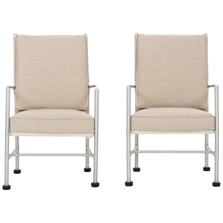 Pair of Warren McArthur Lounge Chairs