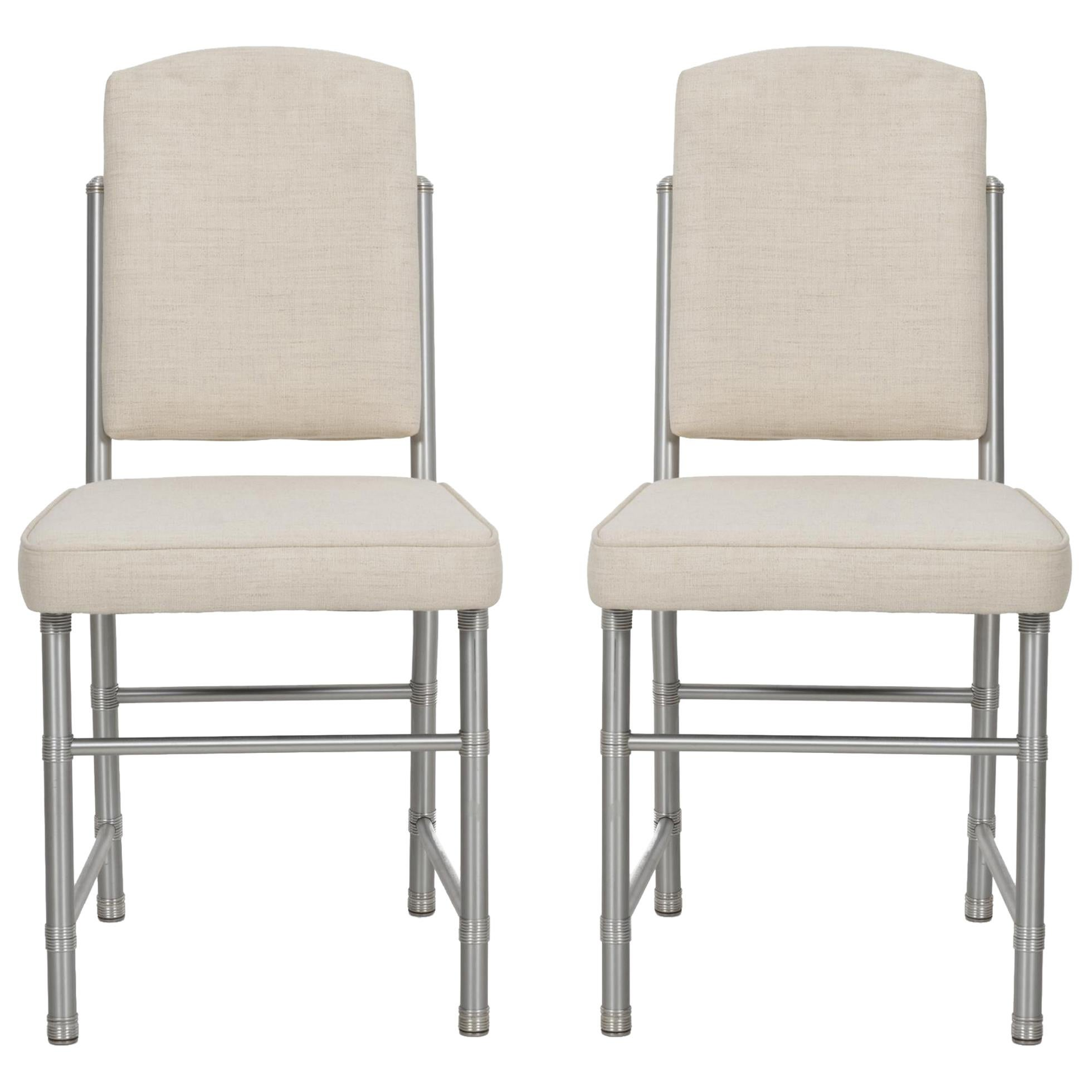 Pair of Warren McCarthur Occasional Chairs