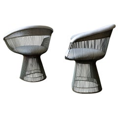 Pair of Warren Platner for Knoll Armchairs, ca. 1970