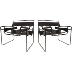 Pair of Wassily Style Chairs