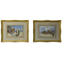 Pair of Watercolors by Arthur Keith