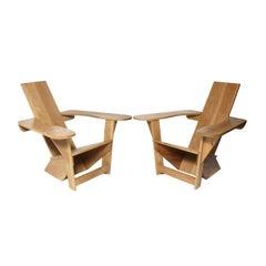 Pair of Westport Style Adirondack Chairs