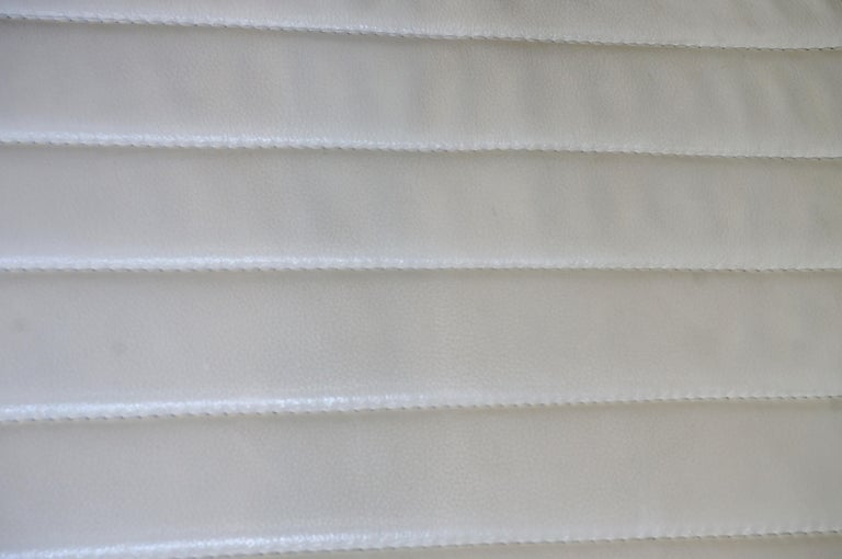 Pair of White Leather