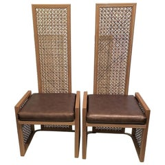 Pair of Wicker Chairs by Viva del Sud for Casa Bique
