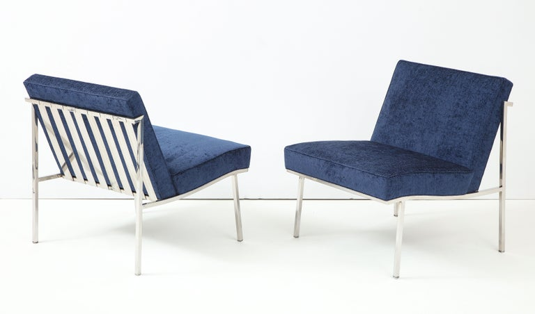 American Pair of William Armbruster Lounge Chairs For Sale