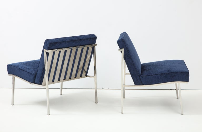 Pair of William Armbruster Lounge Chairs In Good Condition For Sale In New York, NY