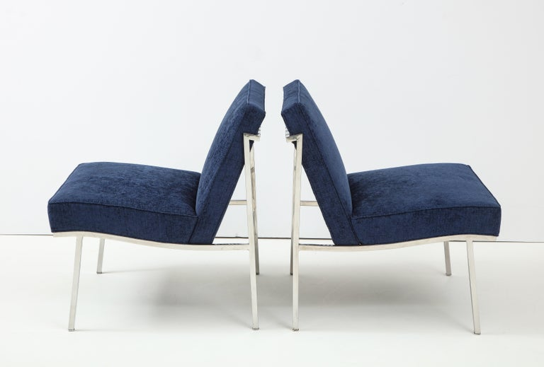 Mid-20th Century Pair of William Armbruster Lounge Chairs For Sale