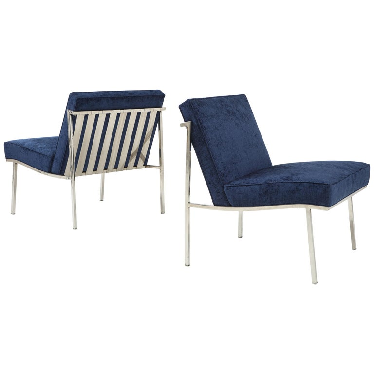 Pair of William Armbruster Lounge Chairs For Sale