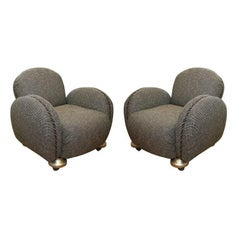 "Pair of William ""Billy"" Haines Armchairs"