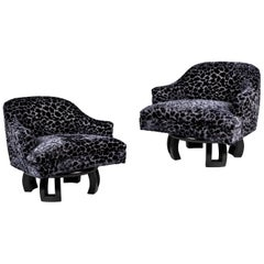 Pair of William Haines Swiveling Chairs