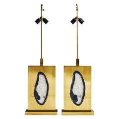 Pair of Willy Daro Lamps, 1960s