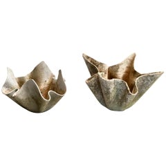 Pair of Willy Guhl Biomorphic Planters