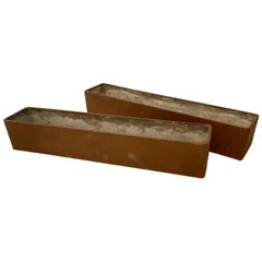 Pair of Willy Guhl Rectangular Planters