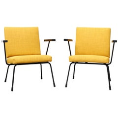 Pair of Wim Rietveld No 1401 Chairs for Gispen