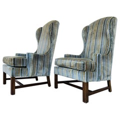 Pair of Wingback Chairs by Gabberto-Harden Furniture