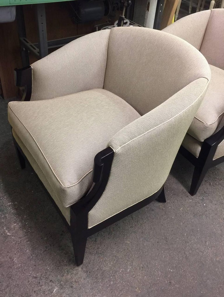 Pair of Winsor White & William Millington Occasional Chairs, circa 1940s For Sale 2