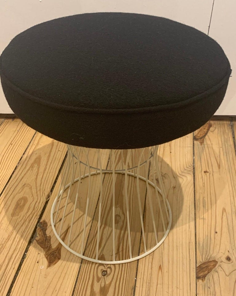 French Pair of Wire Stools For Sale