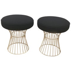 Pair of Wire Stools