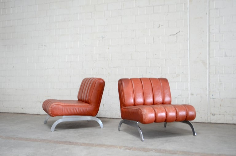 From austrian manufacture Wittmann comes this great pair of lounge chairs.
