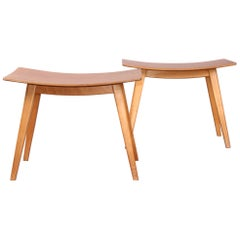 Pair of Wood Stools