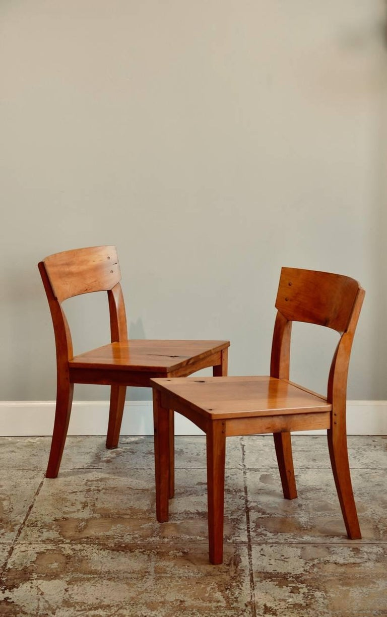 Pair of Woodworker Studio Chairs For Sale 4