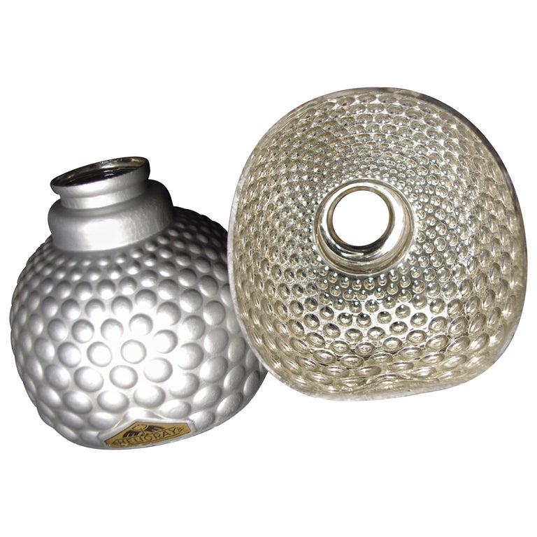 Pair of X-Ray Mercury Glass Shade