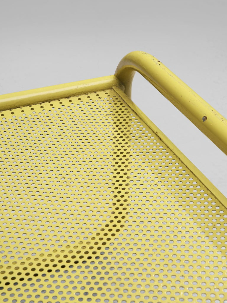 Pair of Yellow 'Locus Solus' Stools by Gae Aulenti For Sale 2